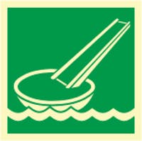 EVACUATION SLIDE - ETTERLYSENDE PVC