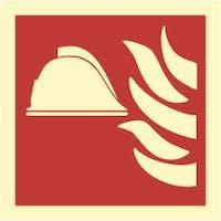 FIRE POINT - ETTERLYSENDE PVC SKILT