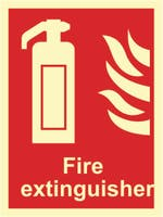 FIRE EXTINGUISHER - ETTERLYSENDE PVC