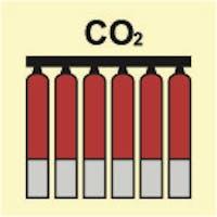 FIXED FIRE EXTINGUISHING BATTERY CO2 - ETTERLYSENDE PVC
