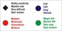 SKILT FOR NEDFART SH F2 - ALUMINIUMKOMPOSITT SKILT