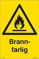 BRANNFARLIG - 200x300mm