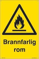 BRANNFARLIG ROM - 300x450mm