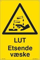 LUT ETSENDE VÆSKE -  300x450mm