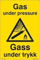 GAS UNDER PRESSURE -300x450mm