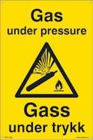 GAS UNDER PRESSURE - 400x600mm