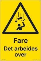 FARE DET ARBEIDES OVER - 300x450mm