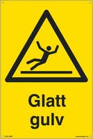 P-7070418100442  GLATT GULV - GUL PVC