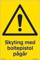SKYTING MED BOLTEPISTOL - 300x450mm