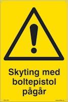 P-7070418100541 SKYTING MED BOLTEPISTOL - GUL PVC
