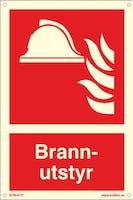 BRANNUTSTYR - ETTERLYSENDE PVC - 200x300mm