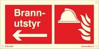 P-7070418120471 PIL VENSTRE BRANNUTSTYR - ETTERLYSENDE PVC