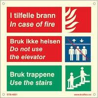 I TILFELLE BRANN/ BRUK IK - ETTERLYSENDE PVC