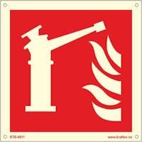 FIRE MONITOR - ETTERLYSENDE PVC