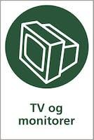 TV OG MONITORER - SELVKLEBENDE FOLIE