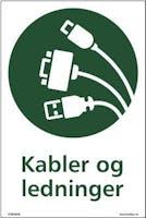KABLER OG LEDNINGER - SELVKLEBENDE FOLIE