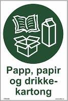 PAPP,PAPIR OG DRIKKEKARTONG - SELVKLEBENDE FOLIE