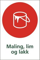 P-7070418109858 MALING, LIM OG LAKK - SELVKLEBENDE FOLIE