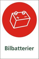 BILBATTERIER - SELVKLEBENDE FOLIE