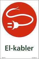EL-KABLER - SELVKLEBENDE FOLIE