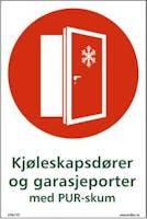 KJØLESKAPSDØRER OG GARASJEPORTER - SELVKLEBENDE FOLIE