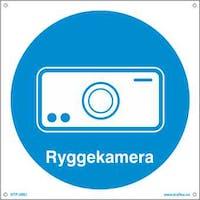 P-7070418120433 RYGGEKAMERA - HVIT PVC