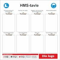 HMS TAVLE - LOGO SKILT