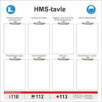 HMS TAVLE - 1000x1000MM SKILT