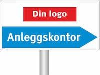 P-7070418119260  ANLEGSKONTOR - LOGO PIL HØYRE
