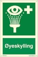 ØYESKYLLING - ETTERLYSENDE PVC - 200x300mm