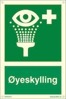 ØYESKYLLING - ETTERLYSENDE PVC