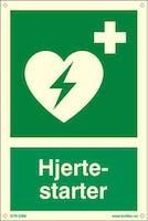 HJERTESTARTER - ETTERLYSENDE PVC