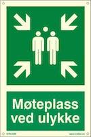 MØTEPLASS VED ULYKKE - ETTERLYSENDE PVC