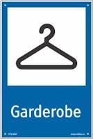 GARDEROBE - HVIT PVC
