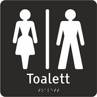 TAKTIL - UNISEX-TOALETT - ADA AKRYLPLATER