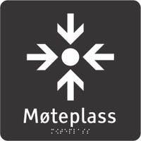 TAKTIL - MØTEPLASS - ADA AKRYLPLATER