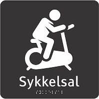 TAKTIL - SYKKELSAL - ADA AKRYLPLATER