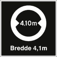 P-7070418109209 BREDDE 4,1 M