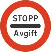 324.2 MS STOPP FOR ANGITT FORMÅL - ALUMINIUM KL1 REFLEKS