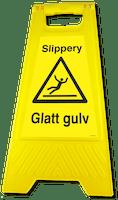 GATEBUKK SLIPPERY/GLATT GULV - SOLID HARDPLAST