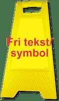 GATEBUKK  FRI TEKST/SYMBOL