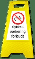 GATEBUKK SYKKELPARKERING - SOLID HARDPLAST